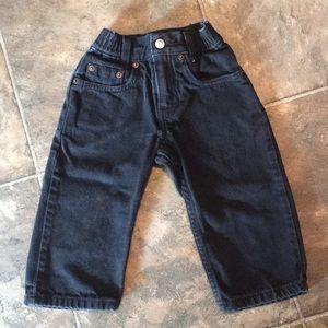 Black Levi Jeans